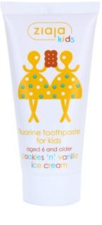 Ziaja Kids Cookies 'n' Vanilla Ice Cream fogkrém gyermekeknek