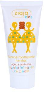 Ziaja Kids Cookies 'n' Vanilla Ice Cream pasta de dinti pentru copii