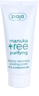 Ziaja Manuka Tree Purifying Cleansing Peeling Paste For Normal To Oily Skin