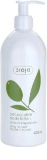 Ziaja Natural Olive Körpermilch mit Auszügen aus Oliven