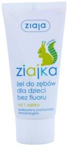 Ziaja Ziajka gel za zobe za otroke
