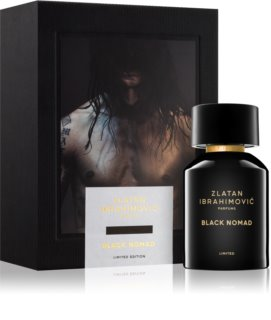 Zlatan Ibrahimovic Black Nomad Eau de Toilette for Men 100 ml (Limited Edition)
