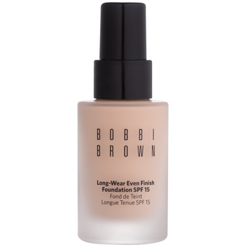 Bobbi Brown Skin Foundation Long-Wear Even Finish dlouhotrvající make-up SPF 15 odstín 0 Porcelain 30 ml