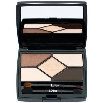 Dior 5 Couleurs Designer paleta profesionálních stínů odstín 708 Amber Design 5,7 g