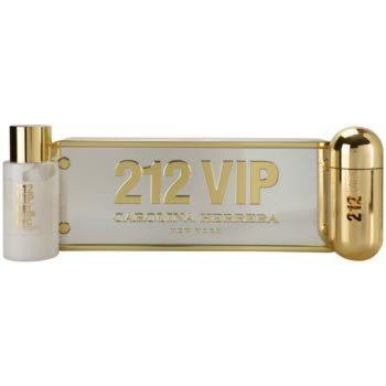 Carolina Herrera 212 VIP lote de regalo I.  eau de parfum 80 ml + leche corporal 200 ml