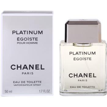 Chanel Egoiste Platinum eau de toilette para hombre 50 ml