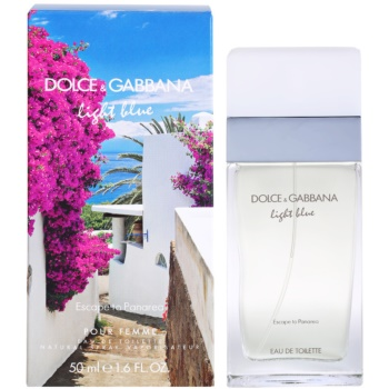 Dolce & Gabbana Light Blue Escape To Panarea eau de toilette para mujer 50 ml