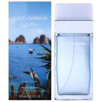 Dolce & Gabbana Light Blue Love in Capri eau de toilette para mujer 100 ml