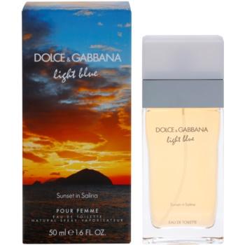 Dolce & Gabbana Light Blue Sunset in Salina eau de toilette para mujer 50 ml