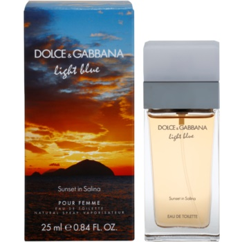 Dolce & Gabbana Light Blue Sunset in Salina eau de toilette para mujer 25 ml