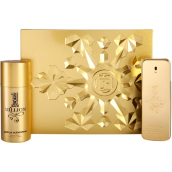 Paco Rabanne 1 Million lote de regalo IV. eau de toilette 100 ml + desodorante en spray 150 ml