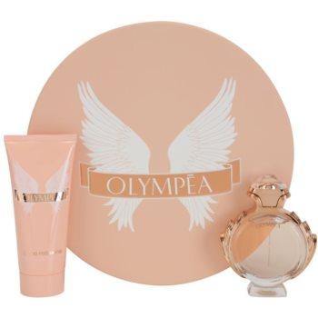 Paco Rabanne Olympea lote de regalo IV. eau de parfum 50 ml + leche corporal 100 ml