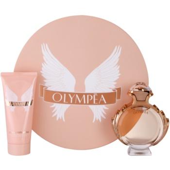 Paco Rabanne Olympea lote de regalo I.  eau de parfum 80 ml + leche corporal 100 ml