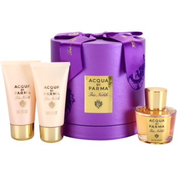 Acqua di Parma Iris Nobile Gift Set I. EDP 1,7 oz + Body Lotion 1,7 oz + Bath and Shower Gel 1,7 oz