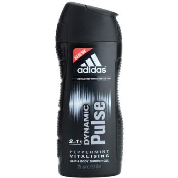 Adidas Dynamic Pulse Shower Gel for men 8.5 oz