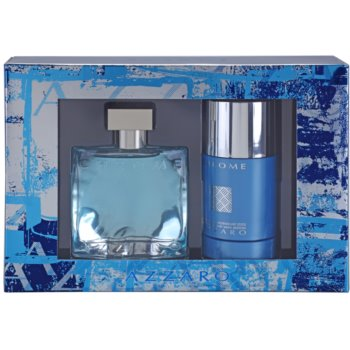 Azzaro Chrome Gift Set I. EDT 1,7 oz + Deodorant Stick 2,5 oz