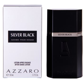 Azzaro Silver Black After Shave Lotion for men 1.7 oz
