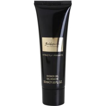 Baldessarini Strictly Private Shower Gel tester for men 1.7 oz