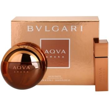 Bvlgari AQVA Amara Gift Set I. EDT 3,4 oz + EDT 0,5 oz