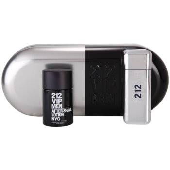 Carolina Herrera 212 VIP Men Gift Set III EDT 3,4 oz + Aftershave Water 3,4 oz
