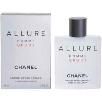 Chanel Allure Homme Sport After Shave Lotion for men 3.4 oz