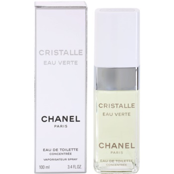 Chanel Cristalle Eau Verte Concentree EDT for Women 3.4 oz
