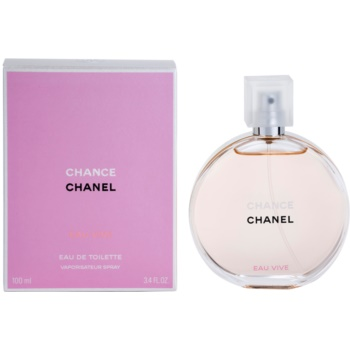 Chanel Chance Eau Vive EDT for Women 3.4 oz