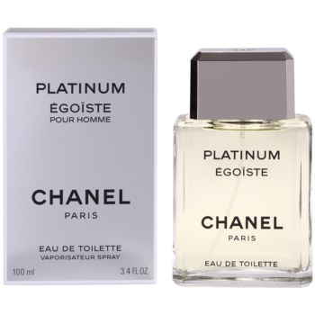 Chanel Egoiste Platinum EDT for men 3.4 oz