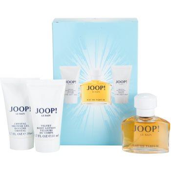 Joop! Le Bain Gift Set I. EDP 1,4 oz + Shower Gel 1,7 oz + Body Milk 1,7 oz