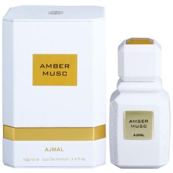 Ajmal Amber Musc eau de parfum mixte 100 ml