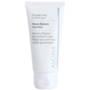 Alcina For All Skin Types baume mains pour peaux sèches et gercées 50 ml