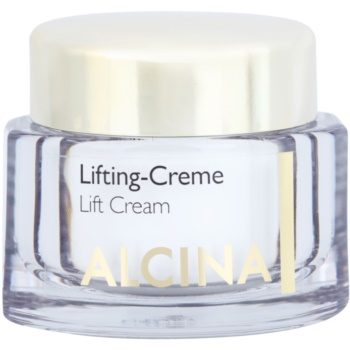 Alcina Effective Care crème liftante pour raffermir la peau (Sustainably Smoothes the Skin) 50 ml