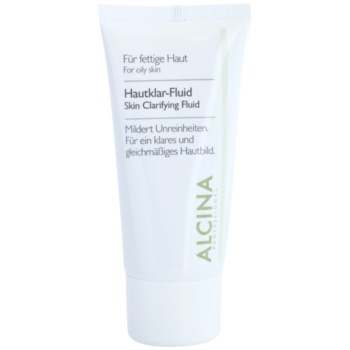 Alcina For Oily Skin fluide d'herbes pour une peau lumineuse (Skin Clarifying Fluid) 50 ml