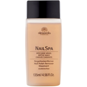 Alessandro NailSpa dissolvant ongles sans acétone (Scent of Rose, Brittle and Splitting Nails) 135 ml