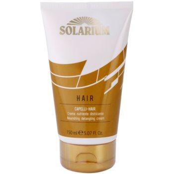 Alfaparf Milano Solarium masque nourrissant pour cheveux exposés au chlore, au soleil et à l'eau salée (Hair Nourishing Detangling Cream) 150 ml