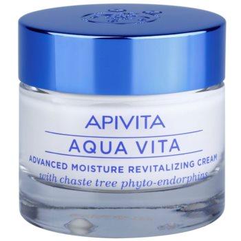 Apivita Aqua Vita crème hydratante et revitalisante intense pour peaux normales et sèches (with Chaste Tree Phyto-Endorphins) 50 ml
