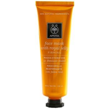 Apivita Express Gold Royal Jelly masque visage raffermissant et régénérant 50 ml