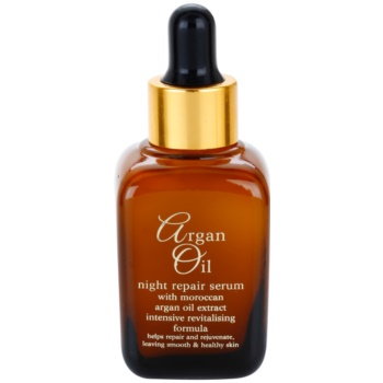 Argan Oil Revitalise Cares Protect soin de nuit rénovateur à l'huile d'argan (Intensive Revitalising Formula) 30 ml