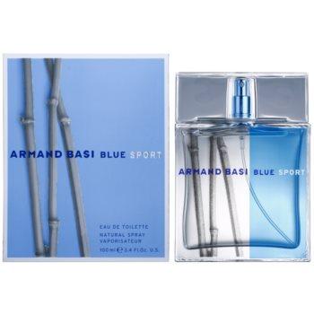 Armand Basi Blue Sport eau de toilette pour homme 100 ml