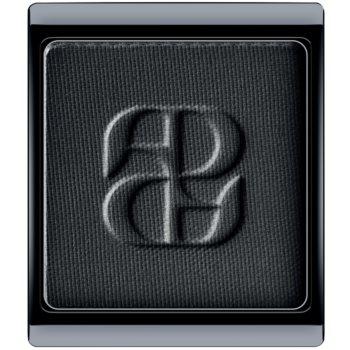Artdeco Art Couture Wet & Dry fard à paupières longue tenue teinte 313.01 Matt Black 1,5 g