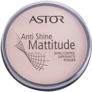 Astor Mattitude Anti Shine poudre matifiante teinte 001 Ivory (Supermatte Powder) 14 g