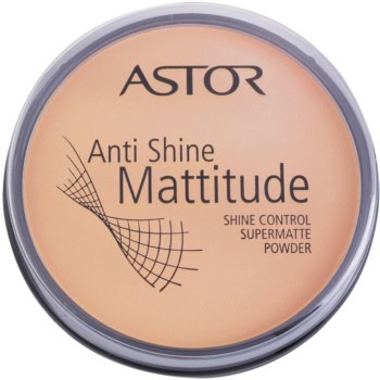Astor Mattitude Anti Shine poudre matifiante teinte 003 Nude Beige (Supermatte Powder) 14 g