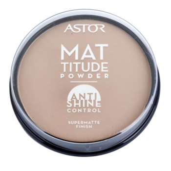 Astor Mattitude Anti Shine poudre matifiante teinte 004 Sand (Supermatte Powder) 14 g