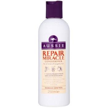Aussie Repair Miracle après-shampoing pour cheveux indisciplinés (with Australian Macadamia Nut Oil, Jojoba-seed Oil and Avocado Oil) 250 ml