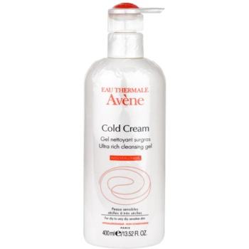 Avène Cold Cream gel nettoyant pour peaux très sèches (Gel nettoyant surgras) 400 ml