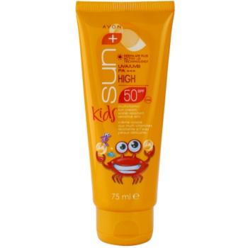 Avon Sun Kids crème solaire pour enfant SPF 50 (Kids Swim & Protect Sun Cream) 75 ml