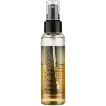 Avon Advance Techniques Supreme Oils spray nourrissant intense aux huiles luxueuses pour tous types de cheveux (Duo Treatment Spray with Nutri 5 Complex) 100 ml