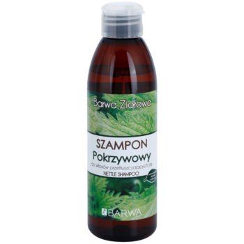 Barwa Herbal Nettle shampoing pour cheveux gras 250 ml