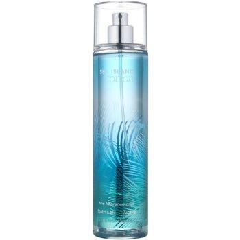 Bath & Body Works Sea Island Cotton spray corporel pour femme 236 ml