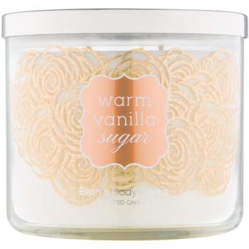 Bath & Body Works Warm Vanilla Sugar bougie parfumée 411 g